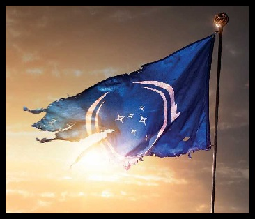 Damaged Federation Flag
